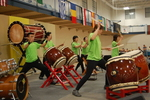 Members of Shinnyo-en Chicago Temple Participate in a Celebration of Cultures with Taiko Performance