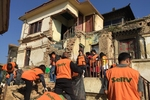 Shinnyo-en's SeRV Volunteers Continue Emergency Support Efforts in Nepal