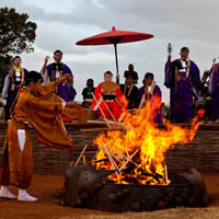 About Shinnyo Fire and Water Ceremonies
