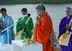 "At Lantern Floatings Around the World: ""A Resolve for Compassion"""